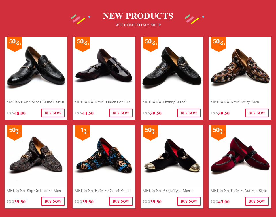 MEIJIANA Fashion Brand Men's Shoes Handmade Leather Casual Shoes Men's Loafers  Wing Type Metal Buckle Loafers Shoes