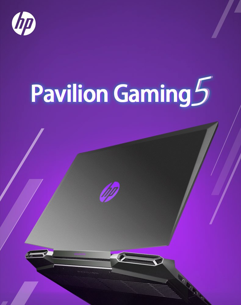 HP Pavilion Gaming 5 Laptop 15.6 Inch I5-9300H GTX1650 4GB Quad Core 8GB 16GB RAM 512GB SSD+32GB Optane Notebook Gaming Laptop