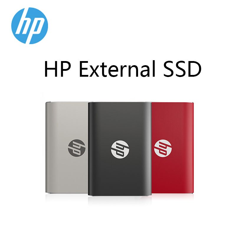 HP P500 External SSD 120GB 250GB 500GB SSD with Type C USB 3.1 Portable Solid State Drive for Laptop PC SSD External Hard Drive