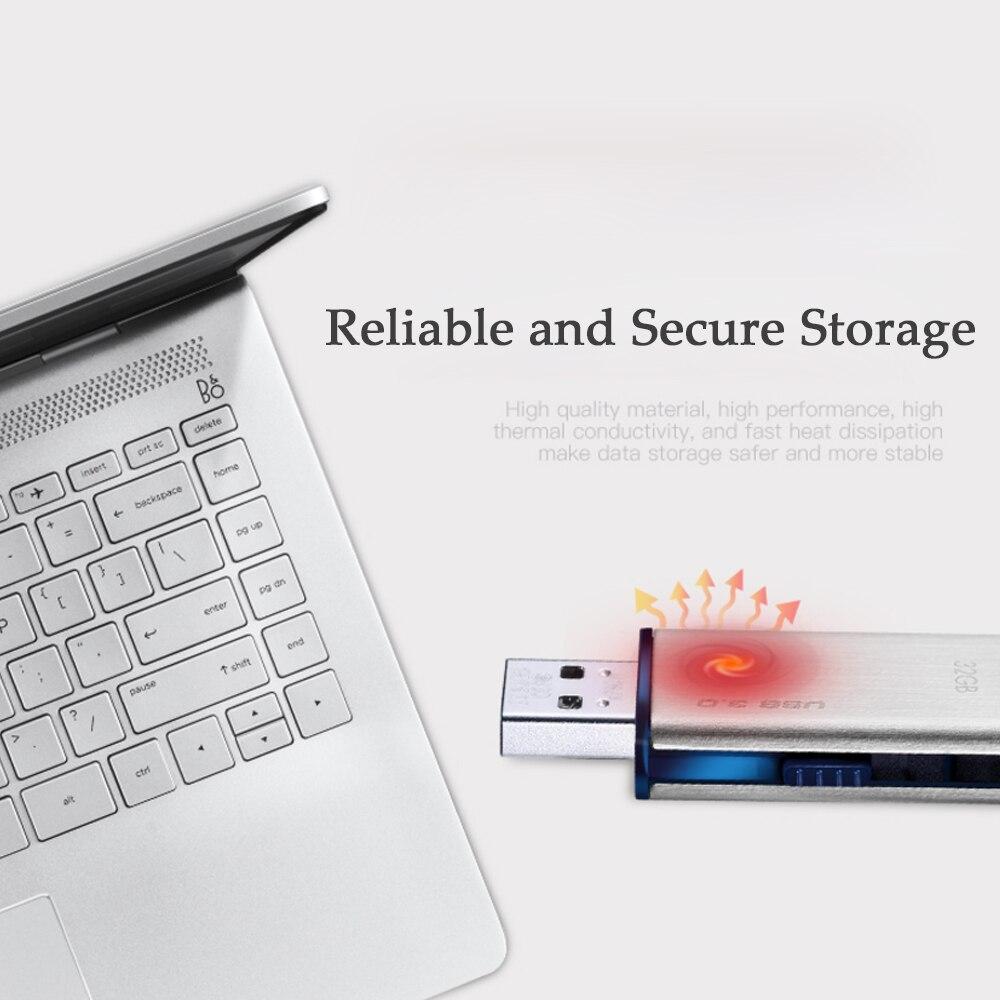 HP USB 3.0 Waterproof metal usb Flash Drive 32GB Flash Disk 64GB 128GB Pen Drive Pendrive Memory Stick Storage Flashdrive U Disk