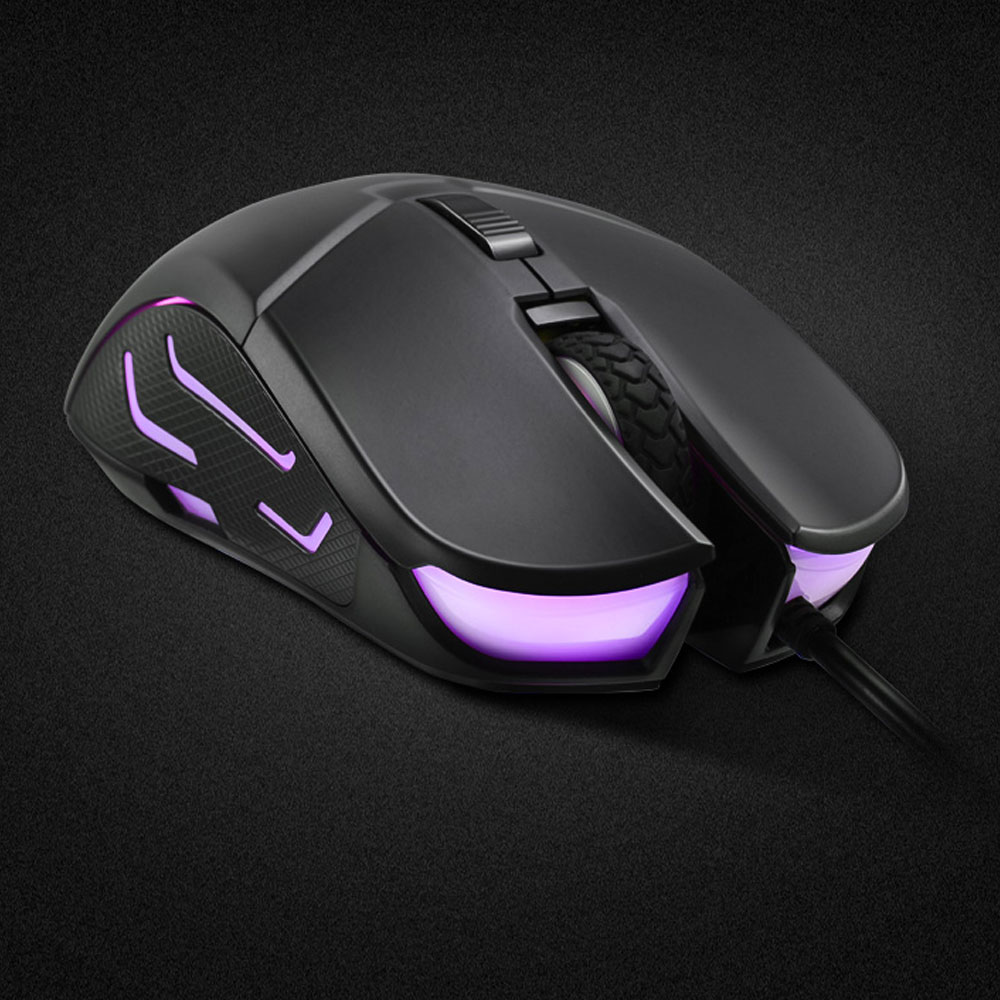 HP G260 RGB LED Light Wired Gaming Mouse Professional Macro Ergonomic 5500 DPI Mouse for PC Computer Laptop Silent Mause Mice