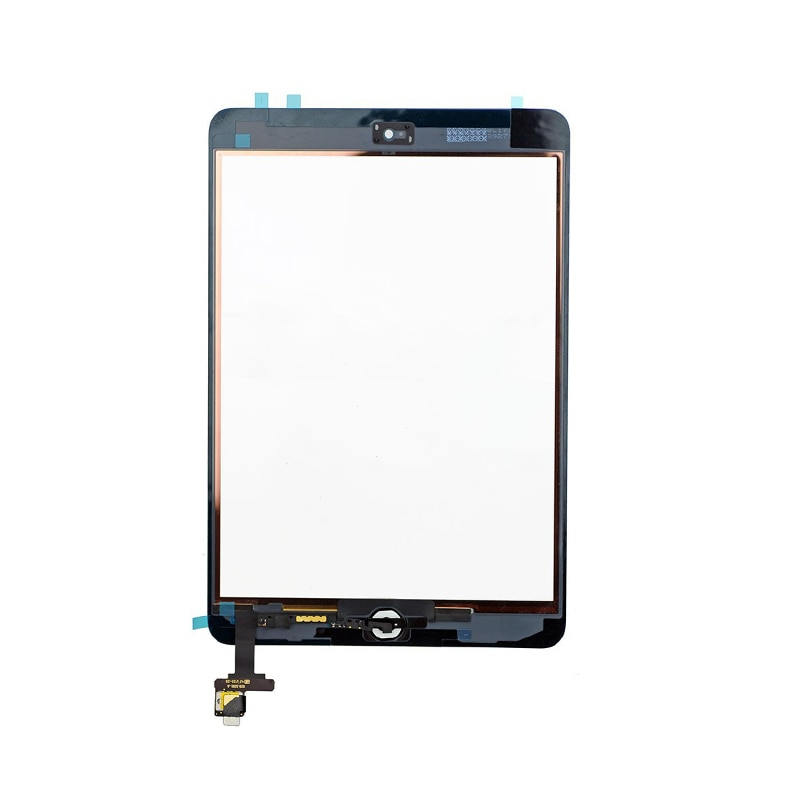 Original/OEM Touch Screen For iPad Mini 1 2 A1432 A1454 A1455 A1489 A1490 A149 with IC Chip Connector+Home Button+Camera Holder