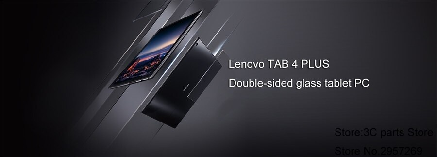 NEW Lenovo Tab 4 10 plus X704N 10 inch Android 7.1  LTE Tablet 4GB 64G Qualcomm Snapdragon 625 APQ8953 Fingerprint