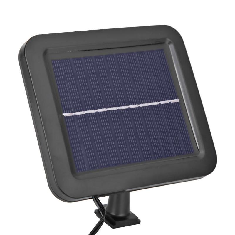 COB 100LED Solar Light Outdoor Solar Lamp PIR Motion Sensor Waterproof Street Light Powered Sunlight Path Night Lighting