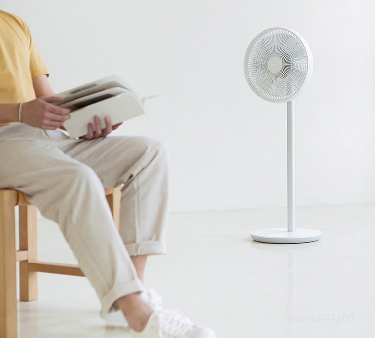 New XIAOMI MIJIA SMARTMI Standing Floor Fan 2 / 2S DC Pedestal Standing portable Fans rechargeable Air Conditioner Natural Wind