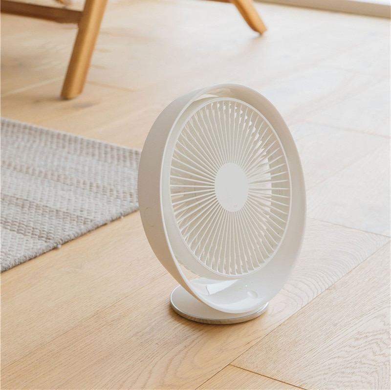 XIAOMI 3life Desktop Fan Air Circulation Rechargeable Electric Fan Natural Wind USB Rechargeable Table Fan