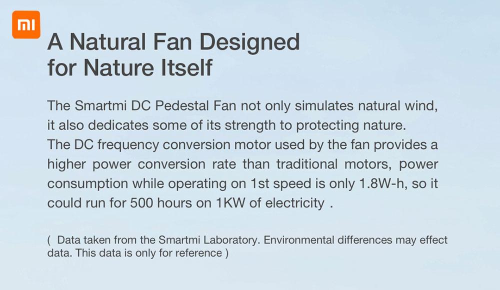Mijia 1X Fan Smartmi 2S Air Fan DC Frequency Conversion Fan Natural Wind APP Control 2800mAh Floor Standing Air Fan Home