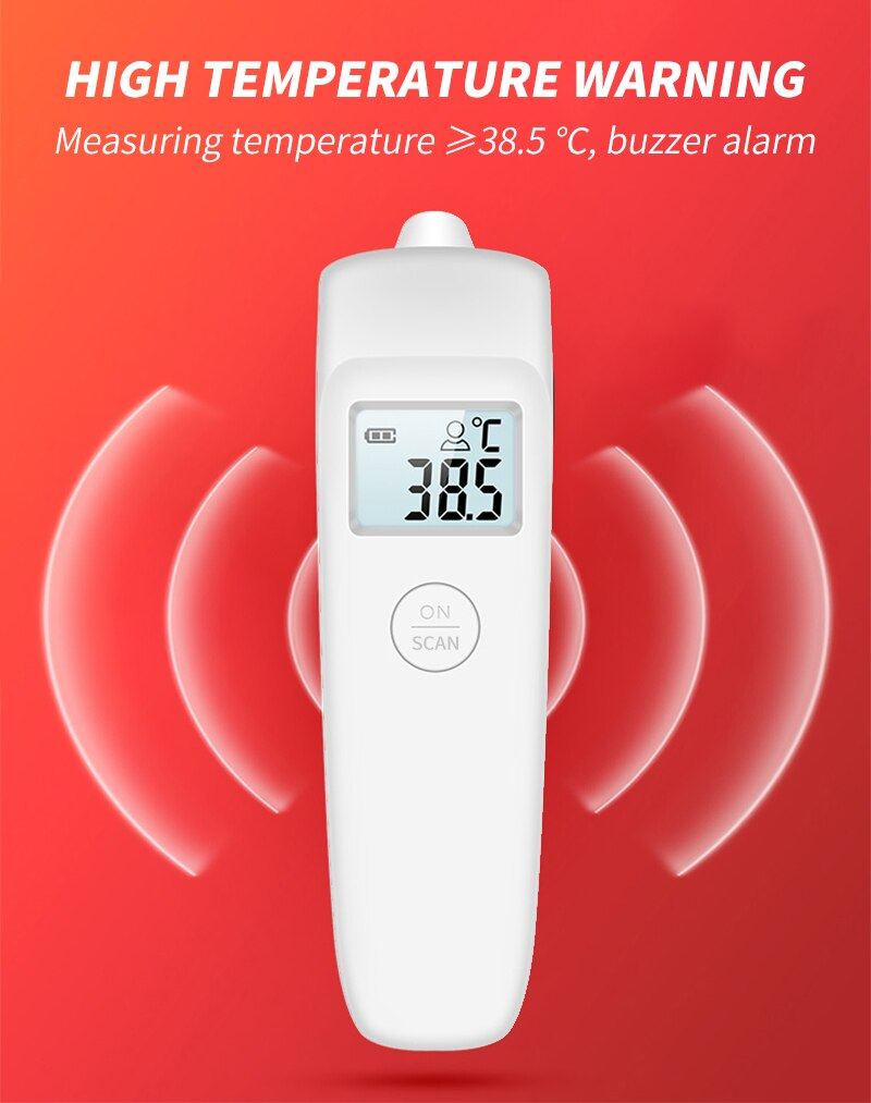 Infrared Thermometer Digital Non-contact Baby Thermometer Fever Thermometer Forehead Thermometer Digital Body Ear Thermometer