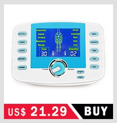 Rechargeable EMS Health Abdominal Muscle Stimulator Electric Weight Loss Massager Sports Trainer  Slim Vibrator Sticker Unisex