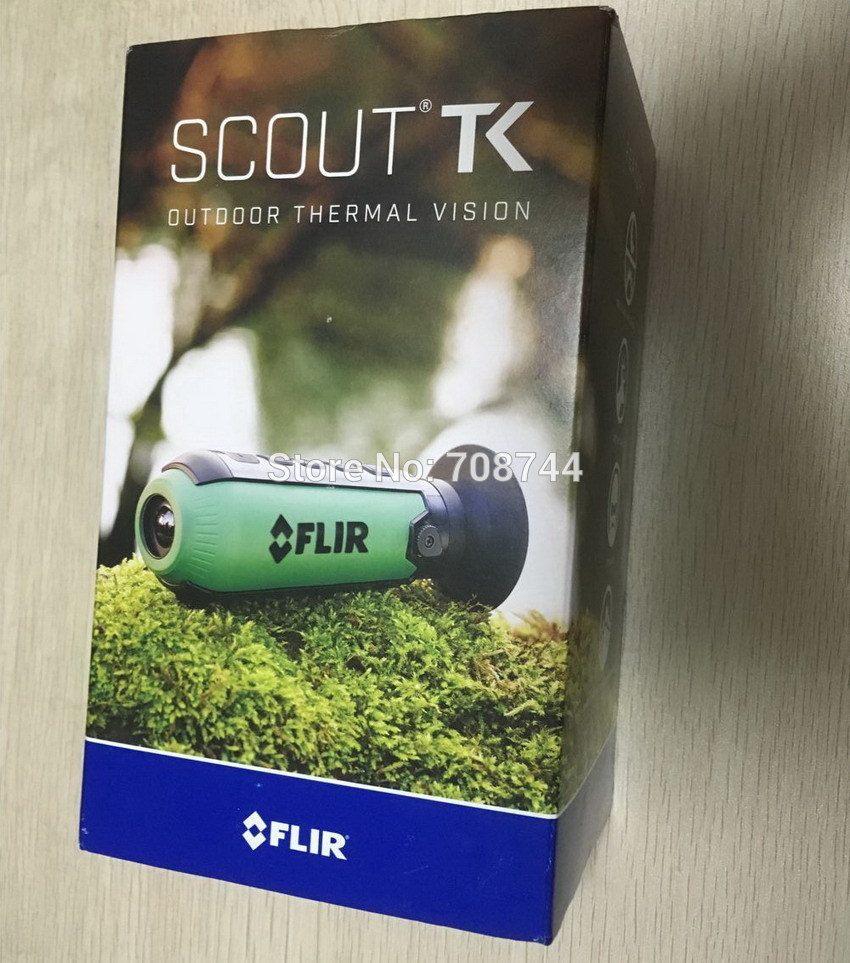 New Thermal Imaging Observation Scope Night Vision Scope FLIR Scout TK Thermal Imaging Scope