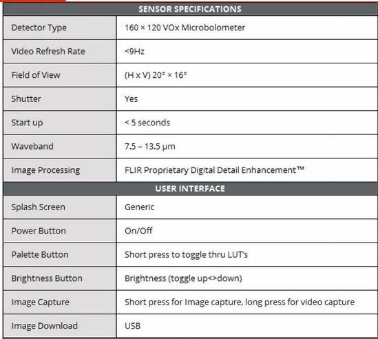 FREE SHIPPING FLIR Scout TK Thermal imaging observation Scope night vision scope Thermal Imaging Scope