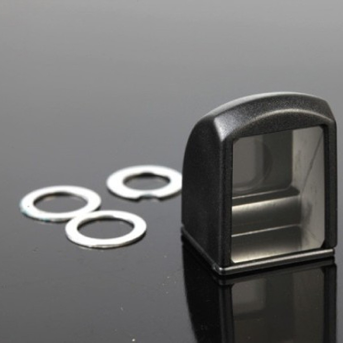 Etmakit Universal Mini Detachable Magnetic Periscope Lens Mobile Phone Lens for iPhone Samsung HTC
